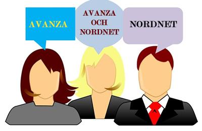 Vad tycker andra, Skall man välja Nordnet eller Avanza?